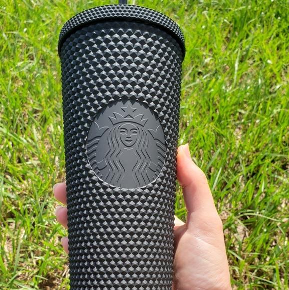 Starbucks black studded cup